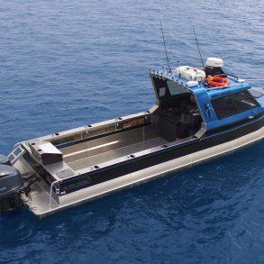Black pearl fishing charters 10m Osprey boat